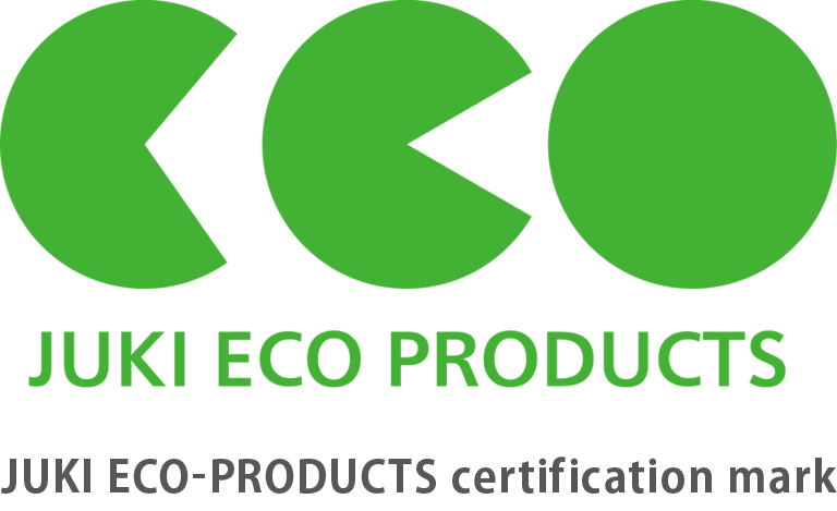 JUKI ECO-PRODUCTS certification mark