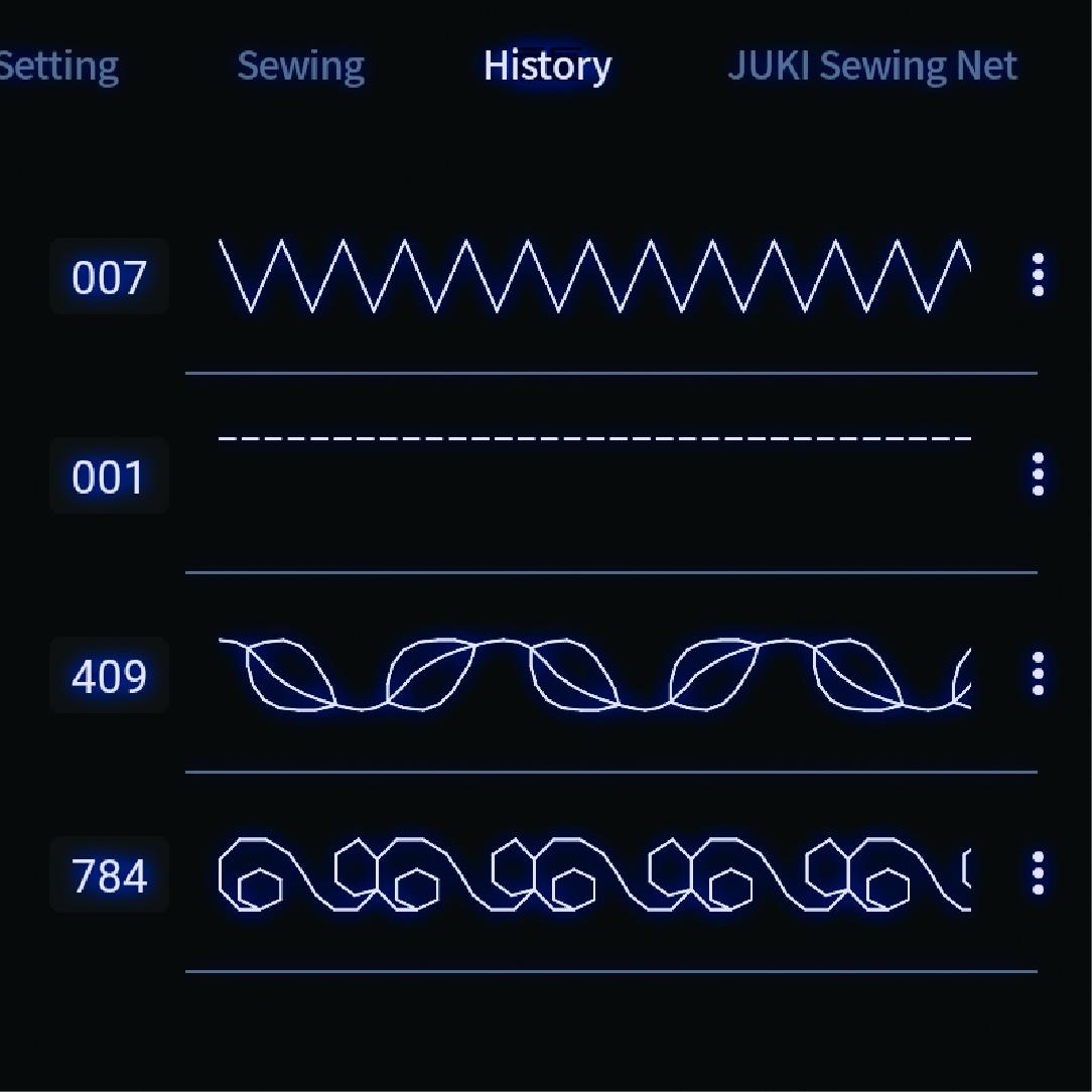 Store Recall Stitch Patterns【NEW】