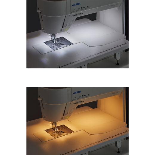 (Above) Daylight (Below) Soft white