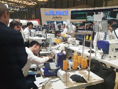 中国国際縫製設備展覧会(CISMA2017)が開催されました