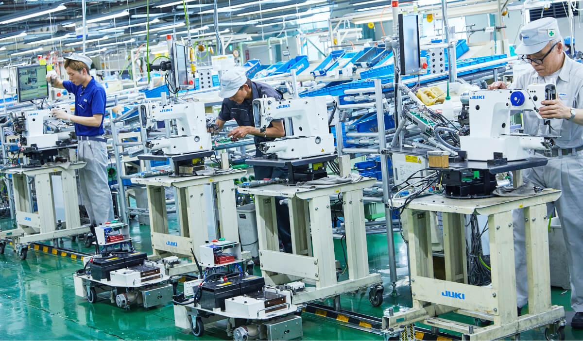 工業用ミシン製造