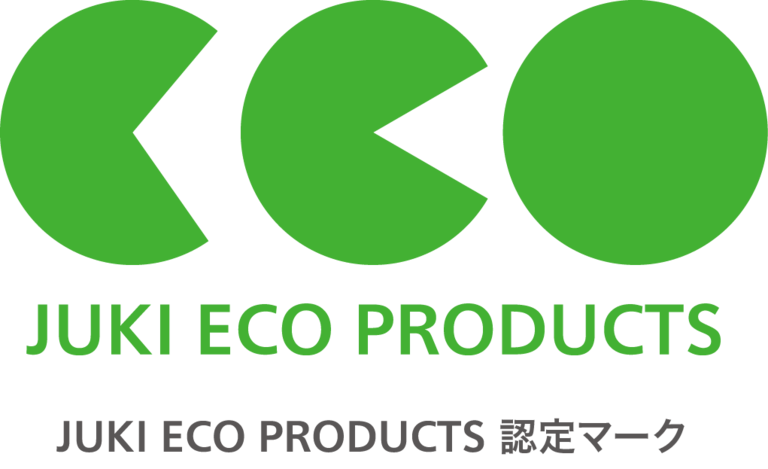 JUKI ECO PRODUCTS 認定マーク